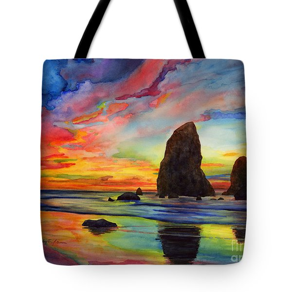 Colorful Solitude Tote Bag