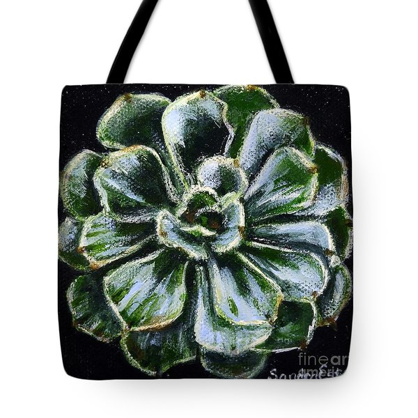 Colorful Succulent Tote Bag