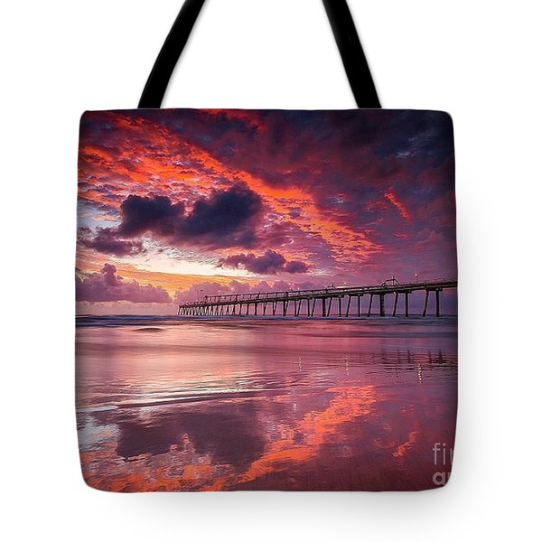 Colorful Sunrise Tote Bag