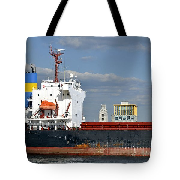 Colorful Tanker Tote Bag