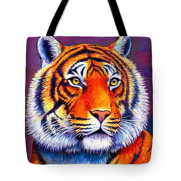 Colorful Tiger Tote Bag