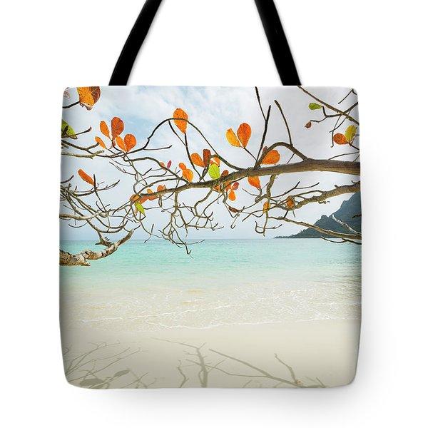 Colorful Tree North Shore Tote Bag