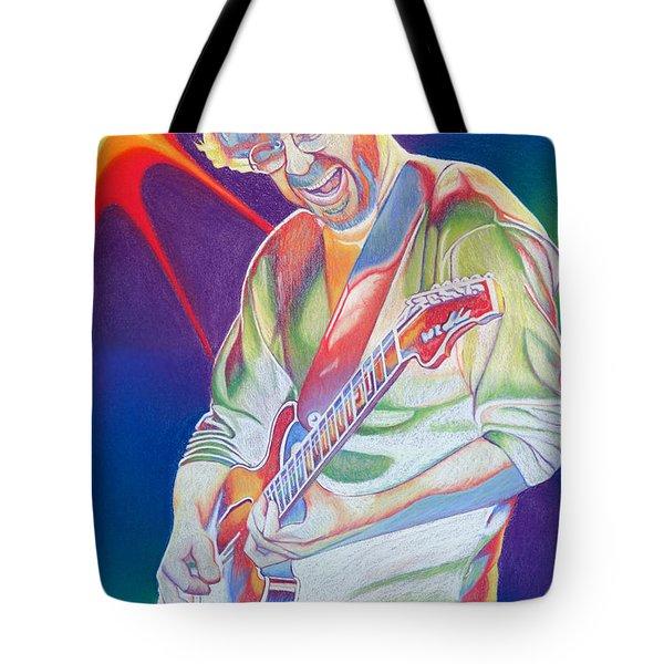 Colorful Trey Anastasio Tote Bag by Joshua Morton
