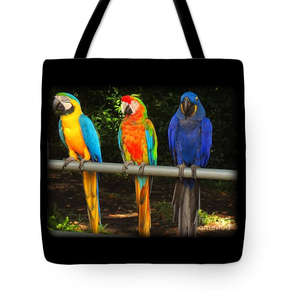 Colorful Trio Tote Bag