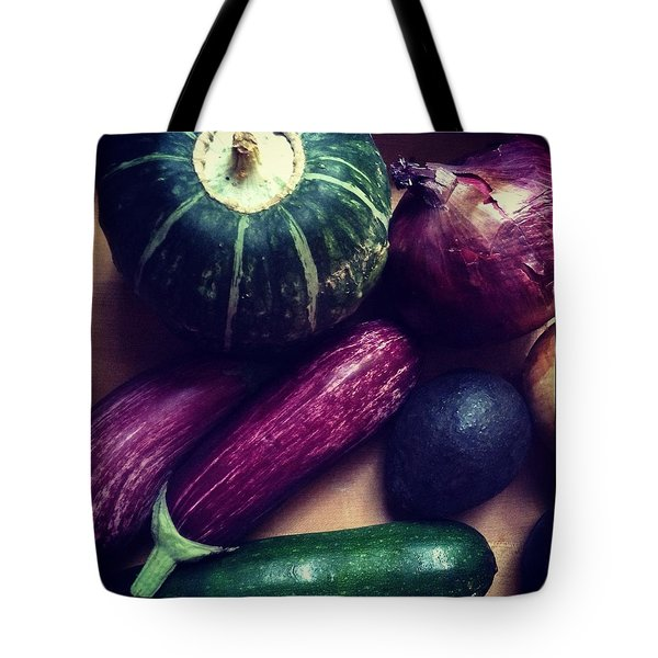 Colorful Vegetables Tote Bag