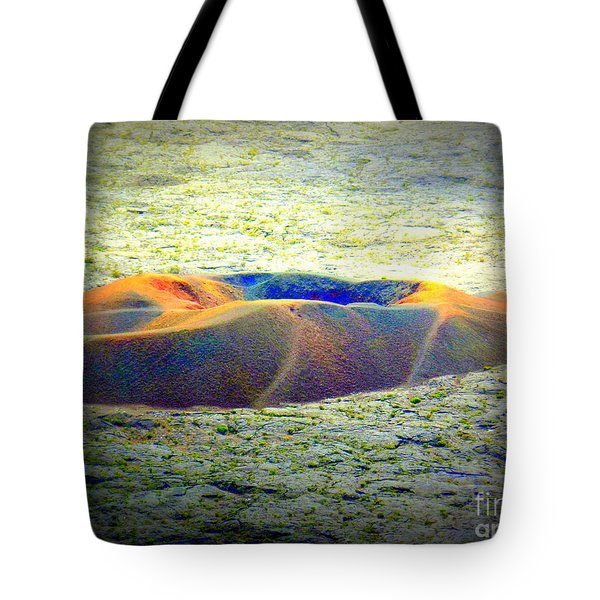 Colorful Volcanic Ash Tote Bag