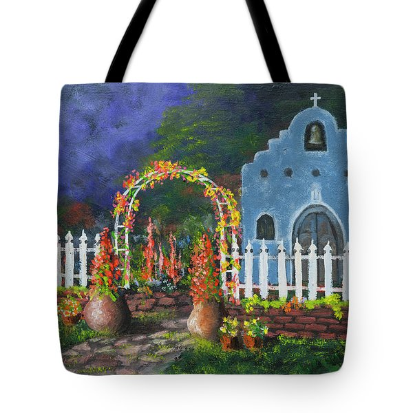 Colorful Welcome Tote Bag by Jerry McElroy