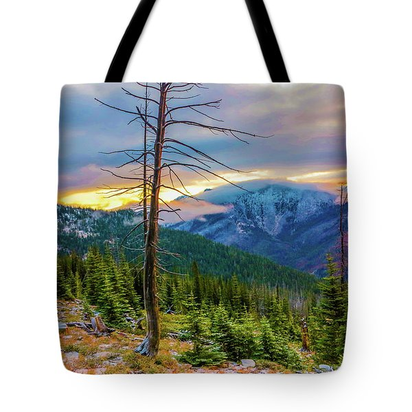Colorfull Morning Tote Bag