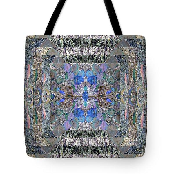 Colorized Aspen Kaleidoscope Tote Bag