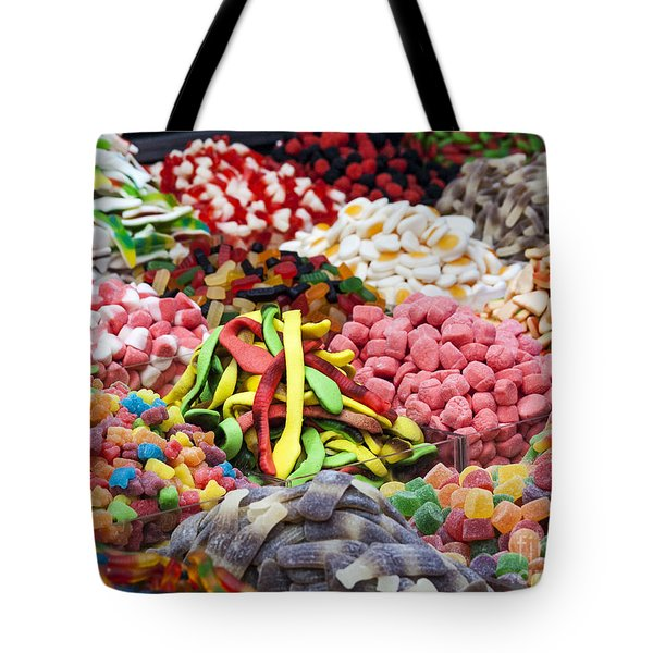 Tote Bag featuring the photograph Colors And Sweet by Arik Baltinester