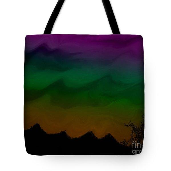 Colors At Dusk2 Tote Bag