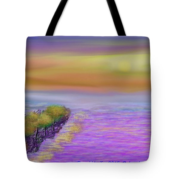 Colors Before Sunset Tote Bag