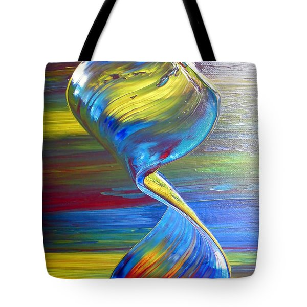 Colors By Nico Bielow Tote Bag by Nico Bielow