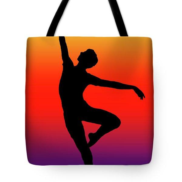 Colors Dance Tote Bag
