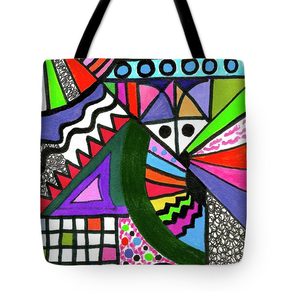 Colors Gone Wild Tote Bag