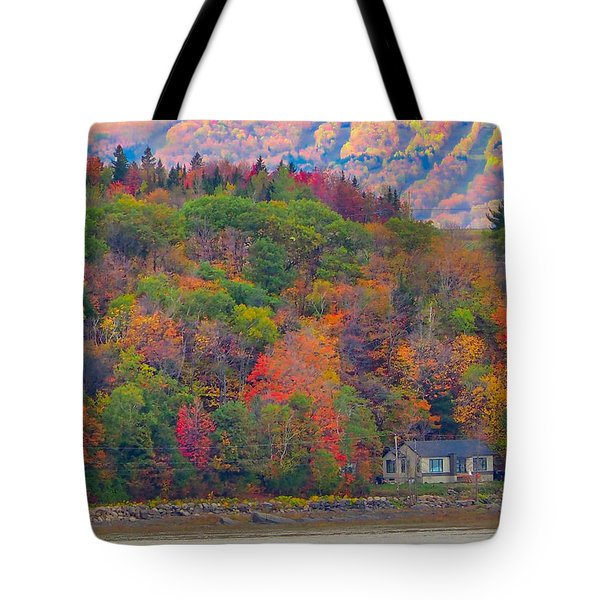 Colors In Canada Tote Bag