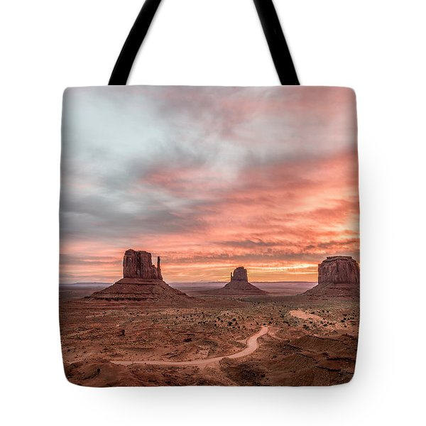 Colors In Monument Tote Bag