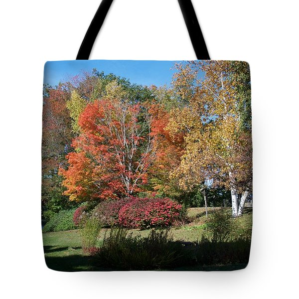Colors In New England Tote Bag