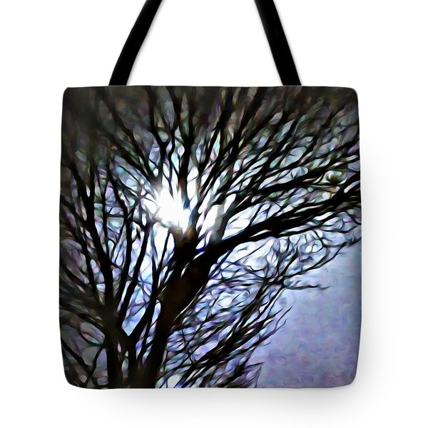 Colors In The Fog Tote Bag