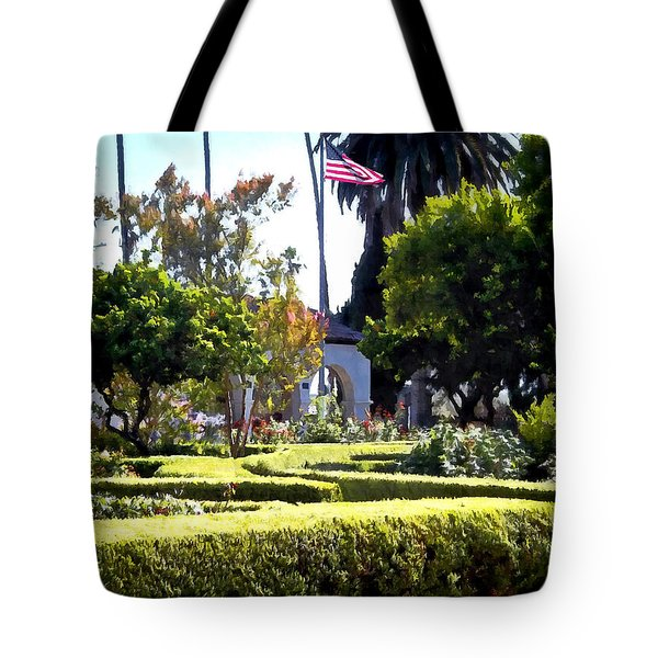 Tote Bag featuring the photograph Colors In The Garden by Glenn McCarthy Art and Photography