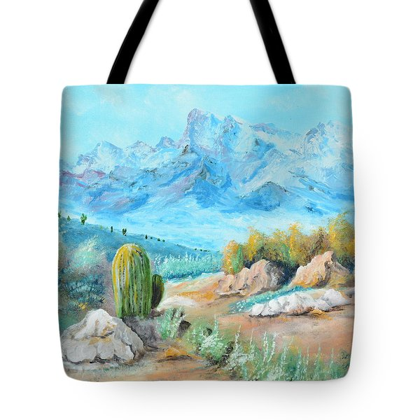 Colors In The High Desert Tote Bag