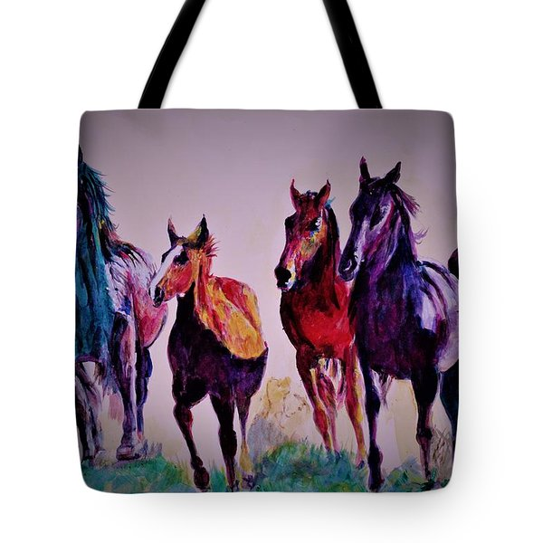 Colors In Wild Tote Bag