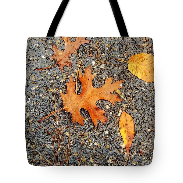 Colors Of Autumn In Montreal Tote Bag
