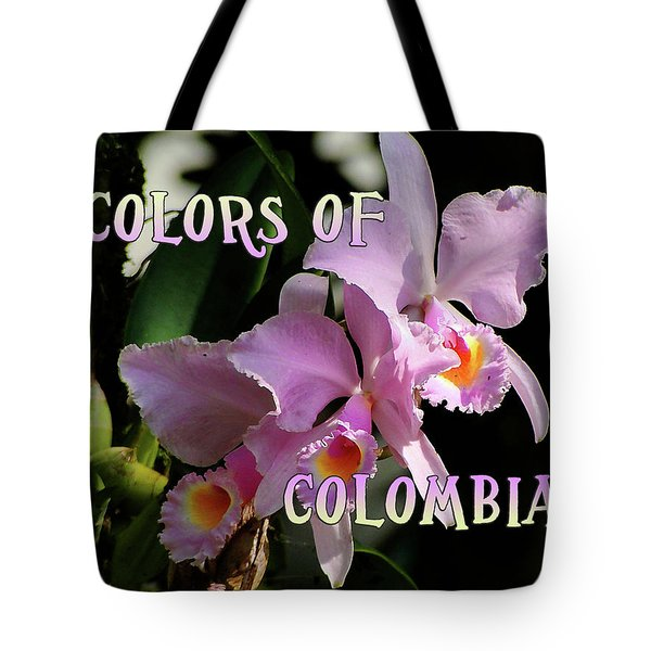 Colors Of Colombia Tote Bag