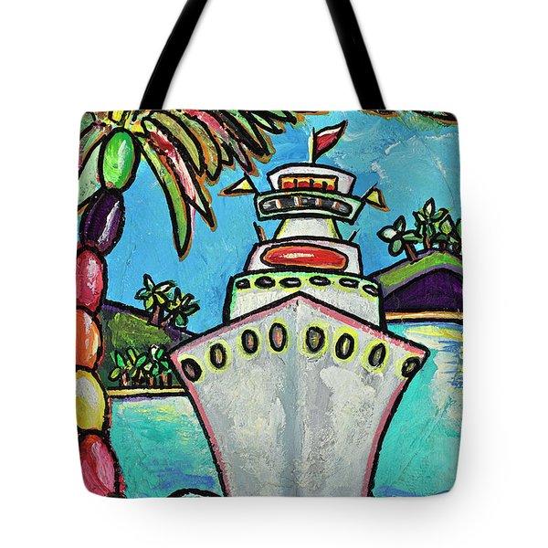 Colors Of Cruising Tote Bag