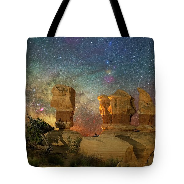 Colors Of Darkness Tote Bag