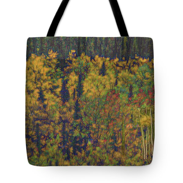 Colors Of Denali Tote Bag