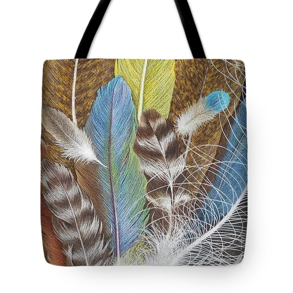 Colors Of Flight Tote Bag