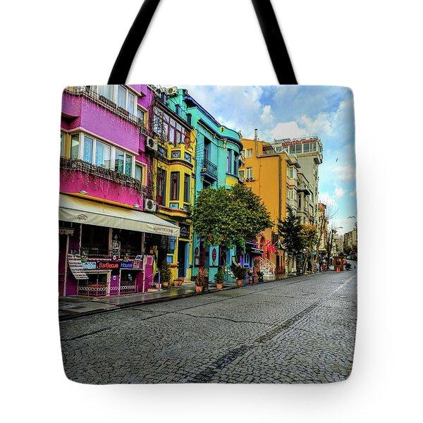Colors Of Istanbul Tote Bag