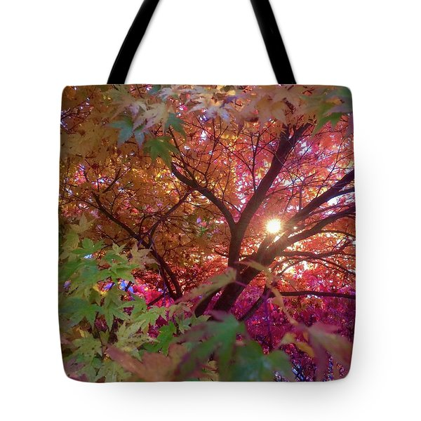Tote Bag featuring the photograph Colors Of Joy by Karen Horn