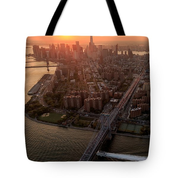 Colors Of Ny Tote Bag