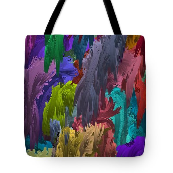 Colors Of Palette Water Colors Tote Bag