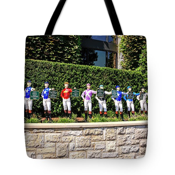 Colors Of Past Stakes At Keeneland Ky Tote Bag