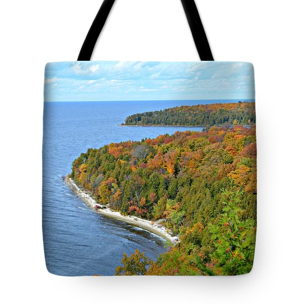 Tote Bag featuring the photograph Colors Of Peninsula by Greta Larson Photography