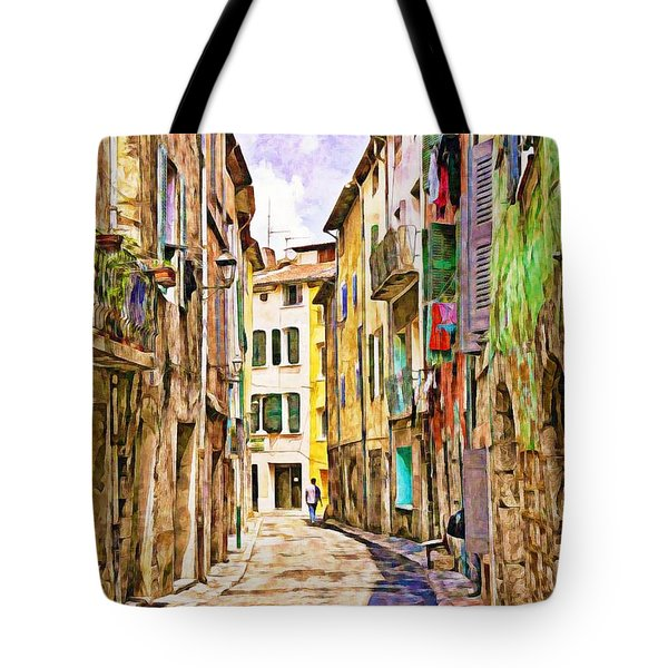 Colors Of Provence, France Tote Bag