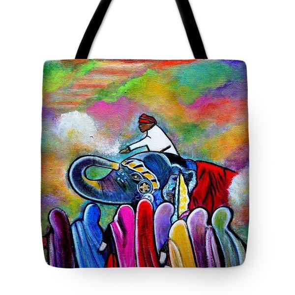 Colors Of Rajasthan Tote Bag