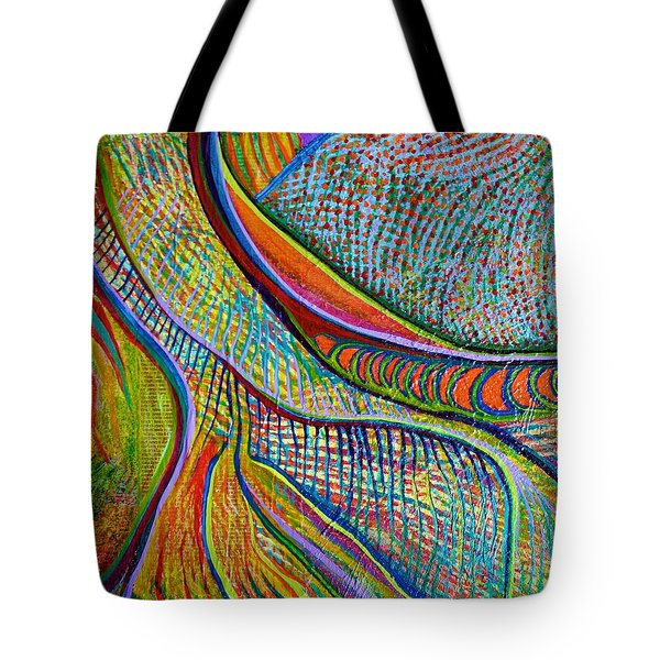 Colors Of Ridgefield Tote Bag
