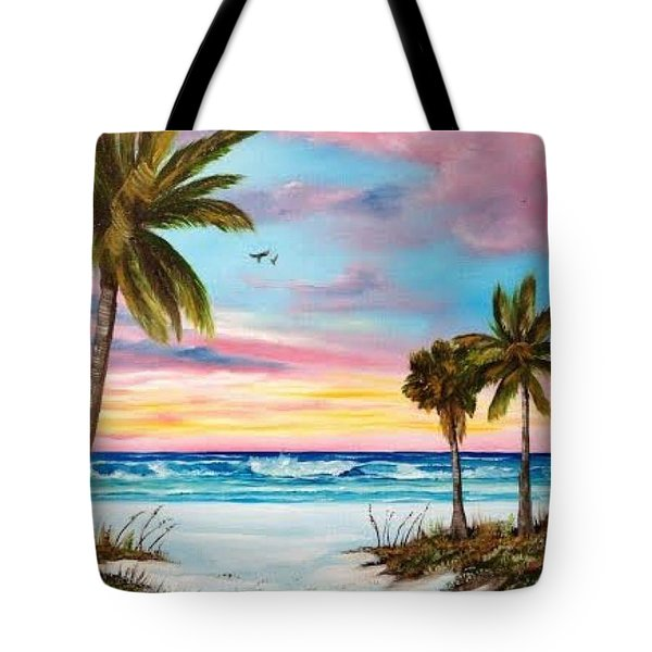 Colors Of Siesta Key Tote Bag