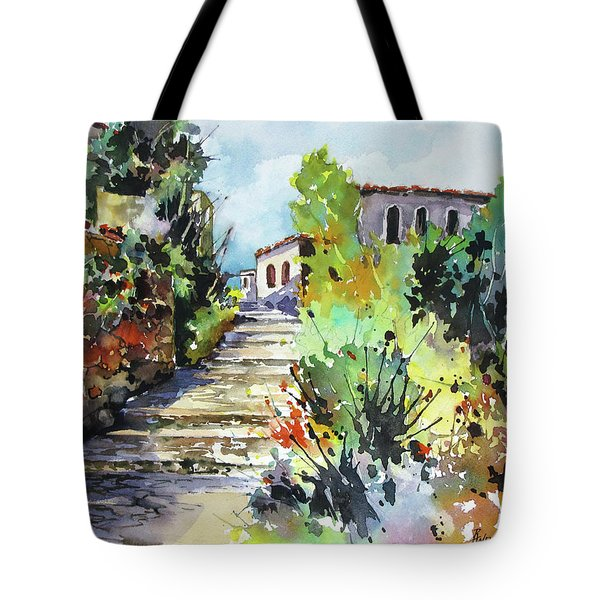 Colors Of Spain Tote Bag