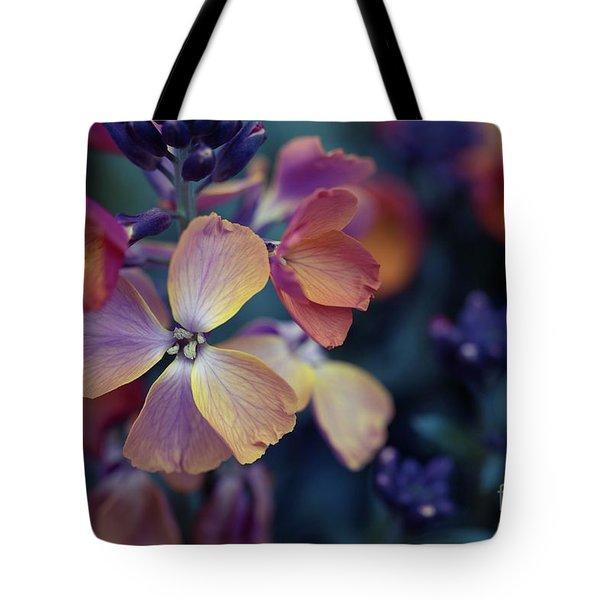 Colors Of Spring Tote Bag