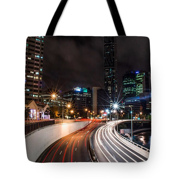 Colors Of The City Tote Bag