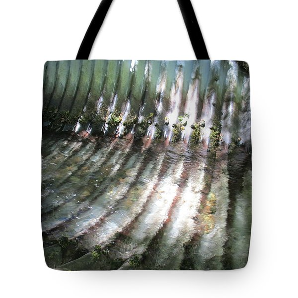 Tote Bag featuring the photograph Colors Of The Culvert by Marie Neder