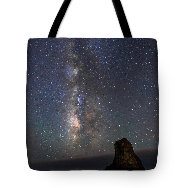Tote Bag featuring the photograph Colors Of The Night by Alex Lapidus