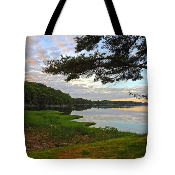 Colors Of The River Tote Bag