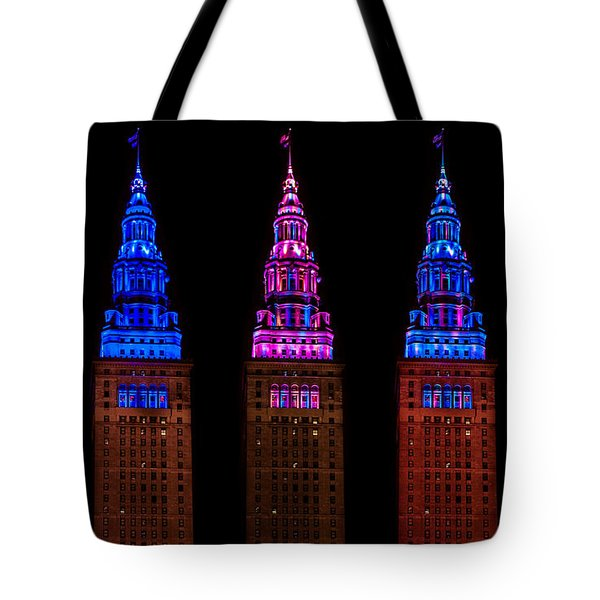 Colors Of The Terminal Tower Tote Bag