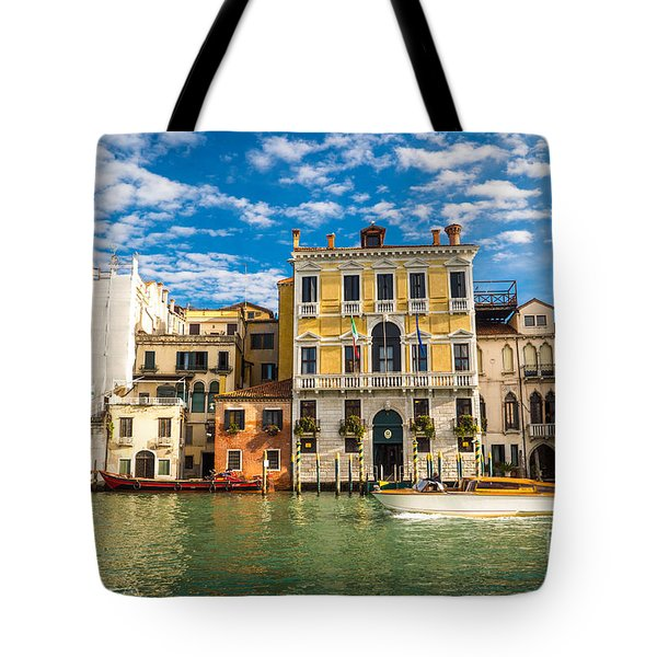 Colors Of Venice - Italy Tote Bag